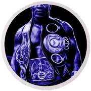 Mike Tyson Collection Round Beach Towel