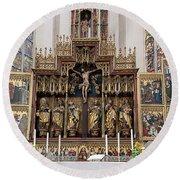12 Apostles Altar - Rothenburg Round Beach Towel