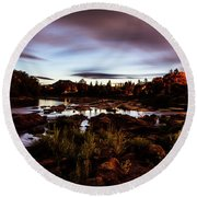 Elkton River Round Beach Towel