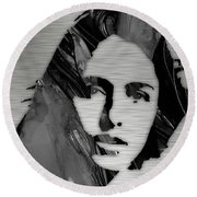 Joan Baez Collection Round Beach Towel