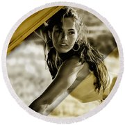 Megan Fox Collection Round Beach Towel