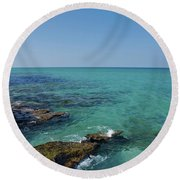 12- Ocean Reef Park Round Beach Towel