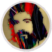 Cat Stevens Collection Round Beach Towel