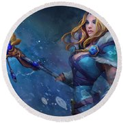 Dota 2 Round Beach Towel