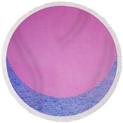 Perfect Existence Round Beach Towel
