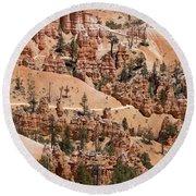 Bryce Canyon - Utah Round Beach Towel