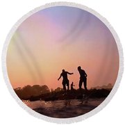 Photograph  Round Beach Towel
