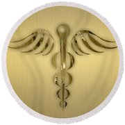 Doctors Collection Round Beach Towel