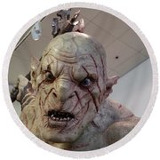 New Zealand - Azog, Lord Of The Rings Round Beach Towel