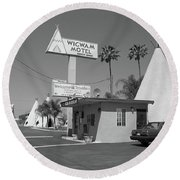 Route 66 - Wigwam Motel Round Beach Towel