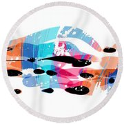 150903ga Round Beach Towel
