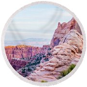 Canyonlands National Park Utah Round Beach Towel