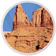 Monument Valley Round Beach Towel