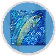 Swordfish Round Beach Towel