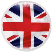 Union Jack Round Beach Towel