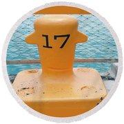17 At Navy Pier Round Beach Towel