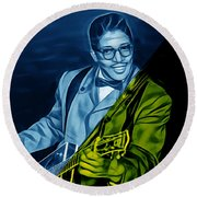 Bo Diddley Collection Round Beach Towel