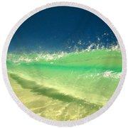 Landscaped Round Beach Towel