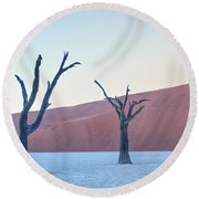 Sossusvlei - Namibia Round Beach Towel