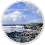 174-008-ireland Round Beach Towel