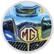 1743.039 1930 Mg Logo Round Beach Towel