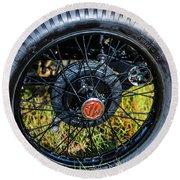 1743.051 1930 Mg Wheel Round Beach Towel
