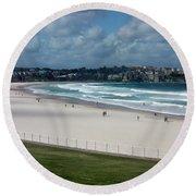Australia - Bondi Beach Round Beach Towel