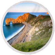 By Nature Round Beach Towel