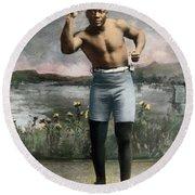 Jack Johnson, 1878-1946 Round Beach Towel