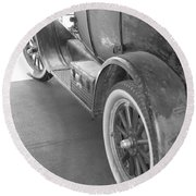 1926 Model T Ford Round Beach Towel
