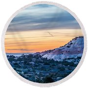 Canyonlands National Park Utah Round Beach Towel