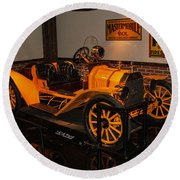 1912 Ford Model T Speedster Round Beach Towel
