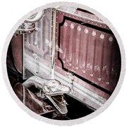 1912 Rolls-royce Silver Ghost Rothchild Et Fils Style Limousine Snake Horn -0711ac Round Beach Towel