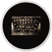 1921 Royal Cc Football Champions Round Beach Towel
