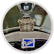 1926 Buick Boyce Motometer Round Beach Towel