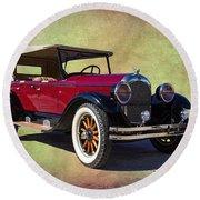 1926 Chrysler  Round Beach Towel