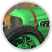 1926 Ford Model T 'dry Lakes' Roadster V Round Beach Towel