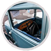 1929 Ford 2056 Round Beach Towel