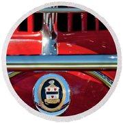 1930 Cord L29 Phaeton Emblem Round Beach Towel