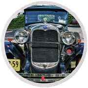 1931 Ford 7374 Round Beach Towel