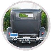1931 Ford Tudor Sedan 'see Ya' Round Beach Towel