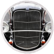 1932 Ford Round Beach Towel
