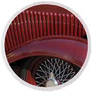 1932 Ford Hot Rod Wheel Round Beach Towel