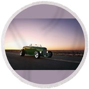 1932 Ford Roadster Round Beach Towel