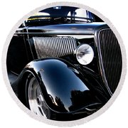 1934 Ford Coupe Round Beach Towel