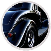 1934 Ford Coupe Rear Round Beach Towel