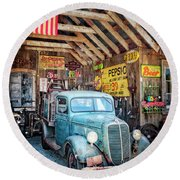 1937 Ford Pickup Truck Round Beach Towel