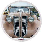 1938 Buick 2087 Round Beach Towel