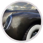 1938 Lincoln Round Beach Towel
