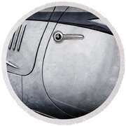 1938 Talbot-lago 150c Ss Figoni And Falaschi Cabriolet Side Door Handle -1511ac Round Beach Towel